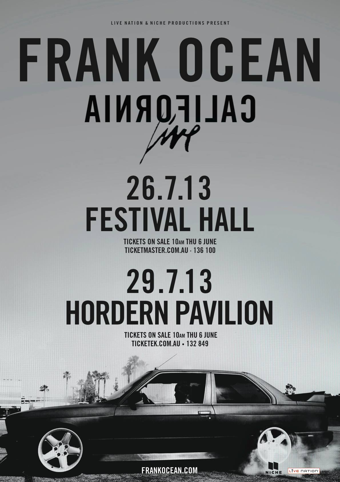 Frank Ocean Tour Blog The Web Comes To Life